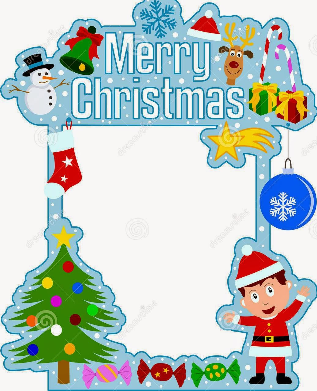 Merry Christmas 2015 Photo Frame