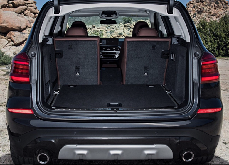 2018 BMW X3 M40i Cargo Space