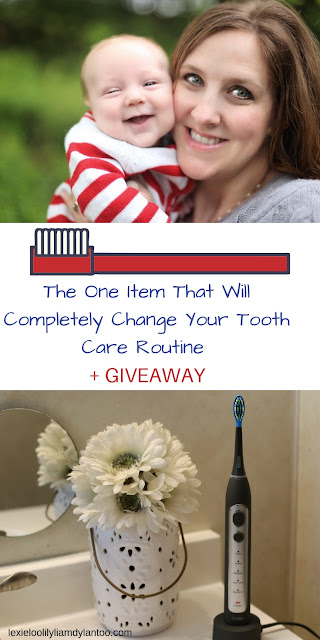 The One Item That Will Completely Change Your Tooth Care Routine + Giveaway #toothcare #toothbrush #momblogger #beautyblogger #healthcare