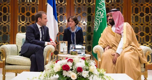 رئيس فرنسا يطلب أموال من السعودية لدعم الجيش الفرنسي في أفريقيا, وبن سلمان يوافق