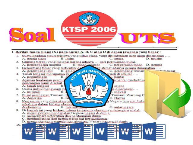 Contoh Soal UTS SD  Kelas 1 2 3 4 5 6 Lengkap