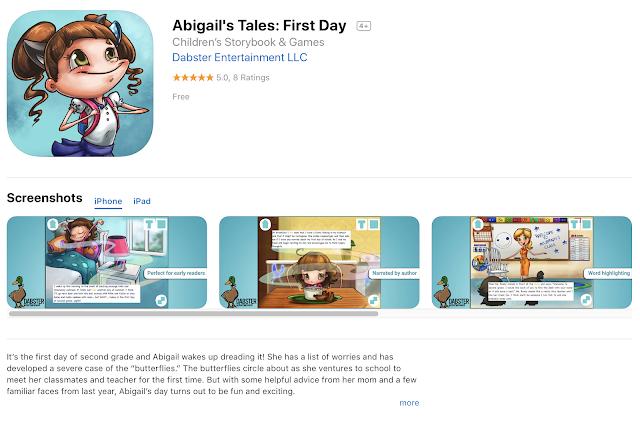 Free iOS App today: Abigail's Tales: First Day | TeacherLINK Blog!