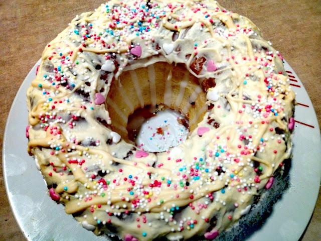 babka cytrynowa babka z biala czekolada babka wielkanocna babka na wielkanoc