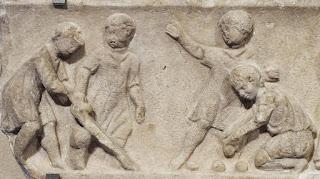 Juego de niños, relieve. Museo del  Louvre