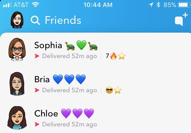 How to get a streak on snapchat