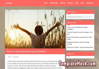 jumaa blogger template