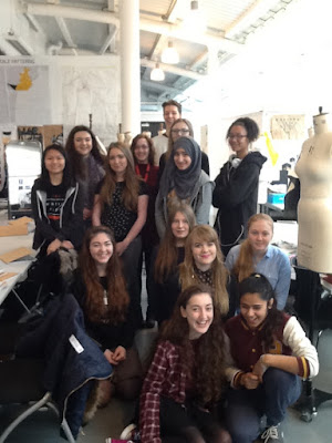 A Group Photo of Saturday Art & Design Club.