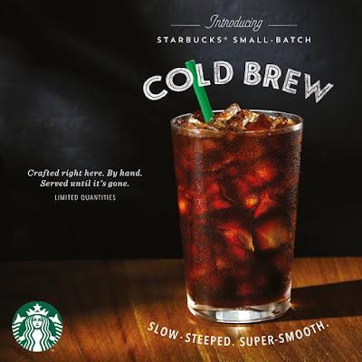 Starbucks Malaysia Cold Brew Coffee Double Rewards Promo