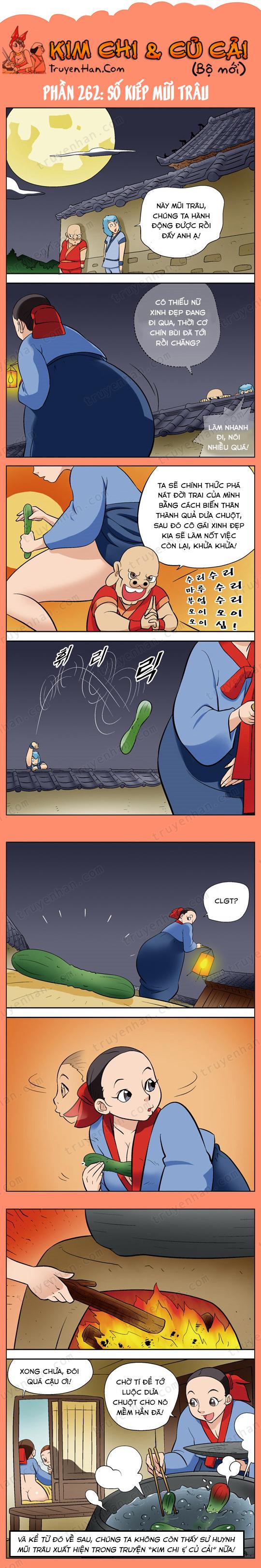 Kim Chi Và Củ Cải phần 262: Số kiếp Mũi Trâu