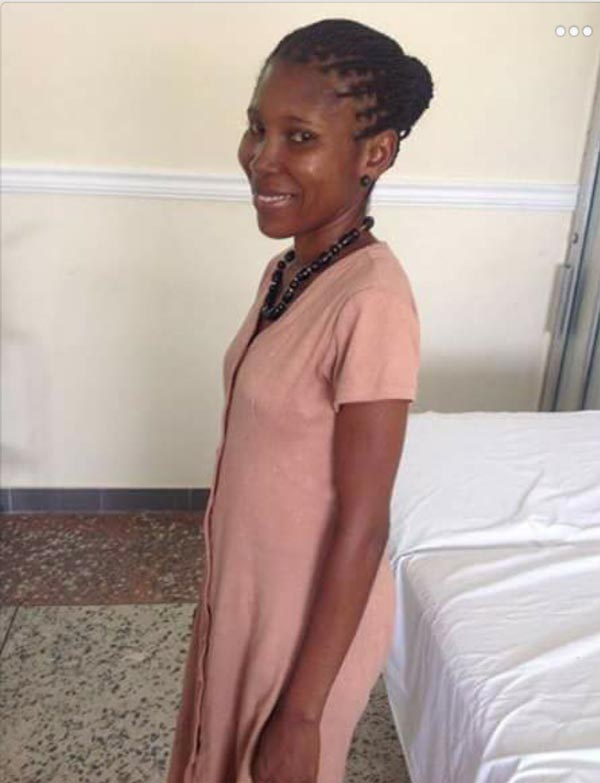 Jeso! Check out the massive fibroid removed from this lady's belly (Graphic)