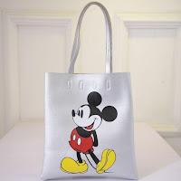Tas Wanita Import Gambar Mickey Mouse