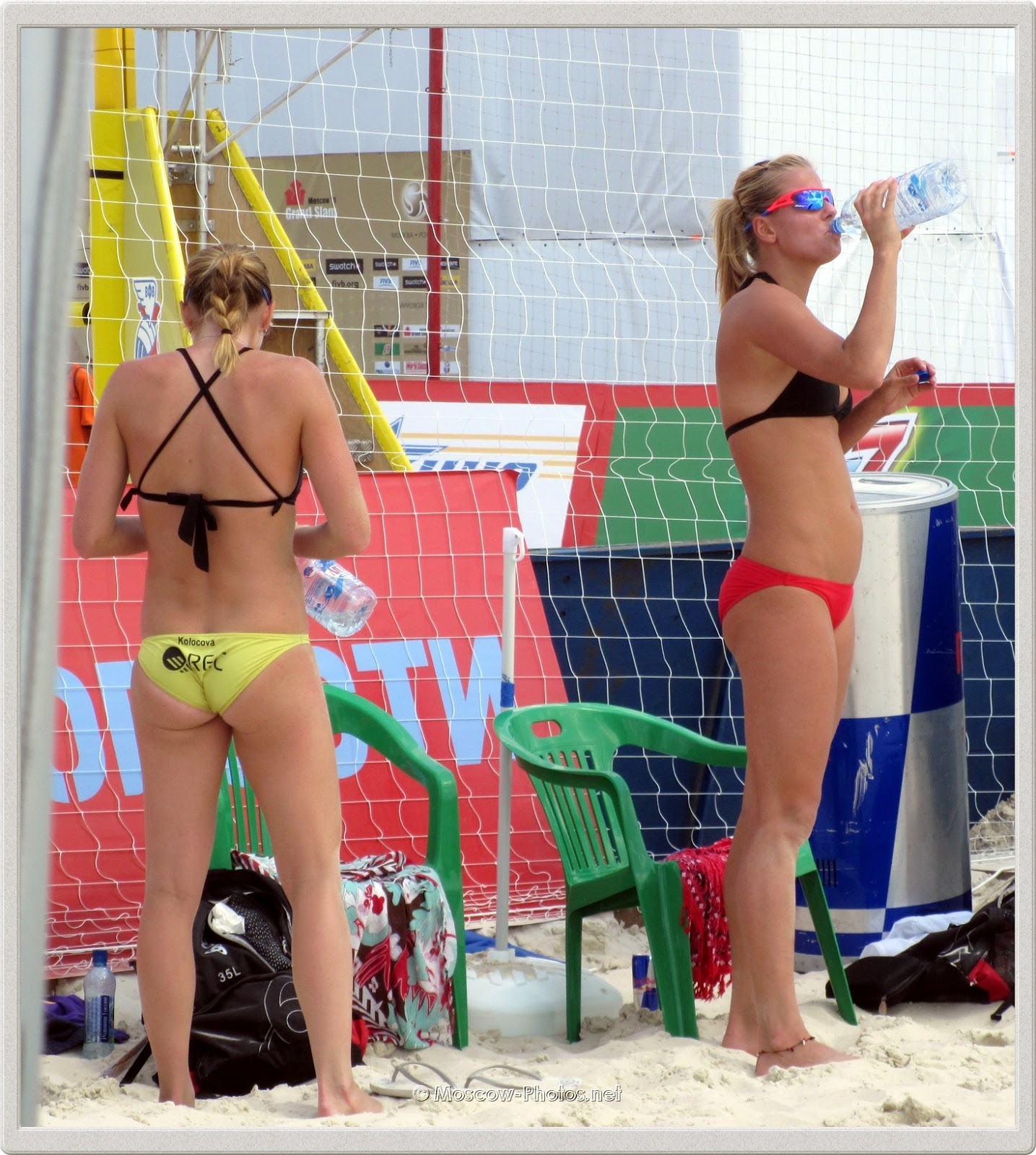 Hot Girls, Hot Sand, Hot Summer! (Kristyna Kolocova & Marketa Slukova)
