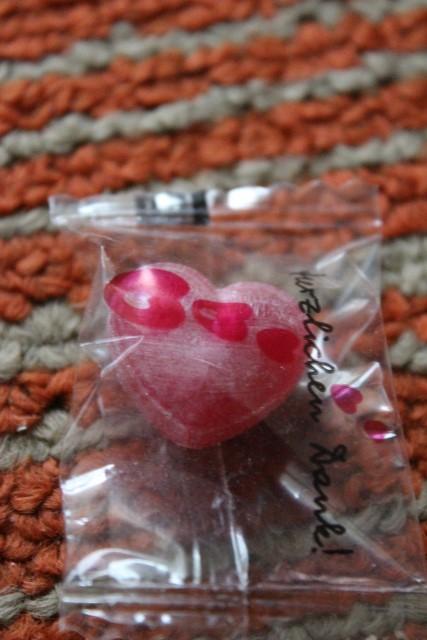 KarriereStart - rosa Herz