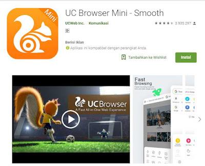browser cepat dan ringan
