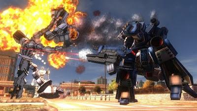 اختيارات في العبة EARTH DEFENSE FORCE : قوات المدافعة عن الأرض