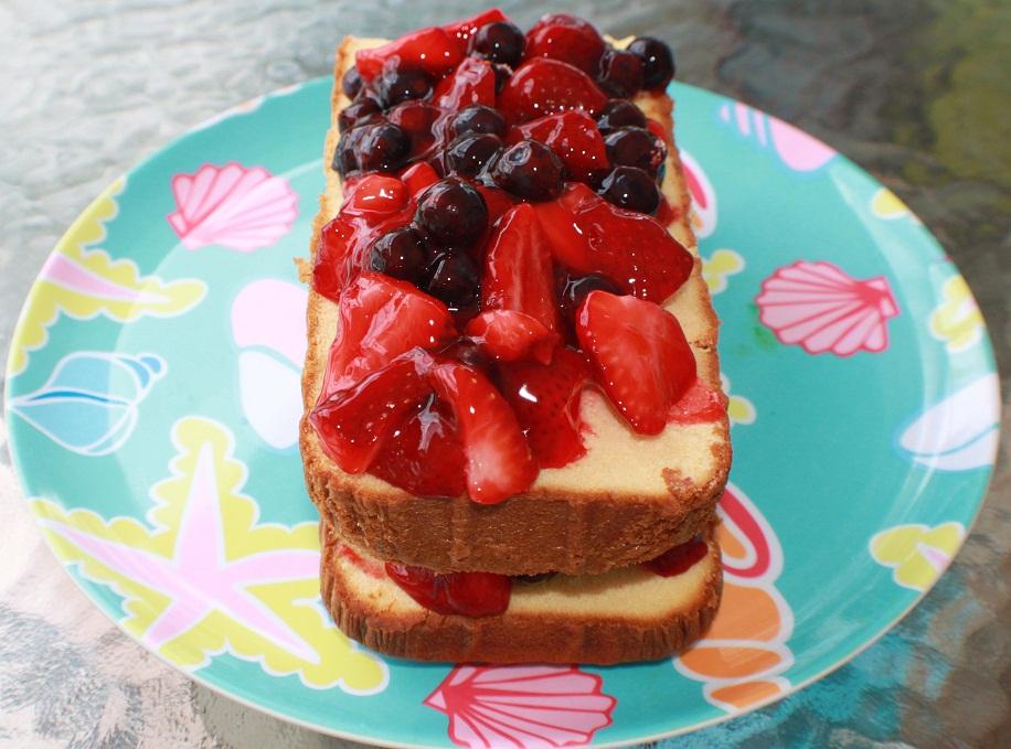 Italian Fruit Cake Recipes: Glazed Fruit Grandma's Poundcake Rum Dessert Recipe