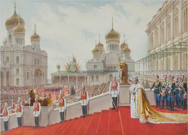 Adolf Iosifovich Charlemagne, imagenes chidas de arte inspirador en acuarela, ejercitos, palacios