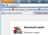 Opzioni About Firefox