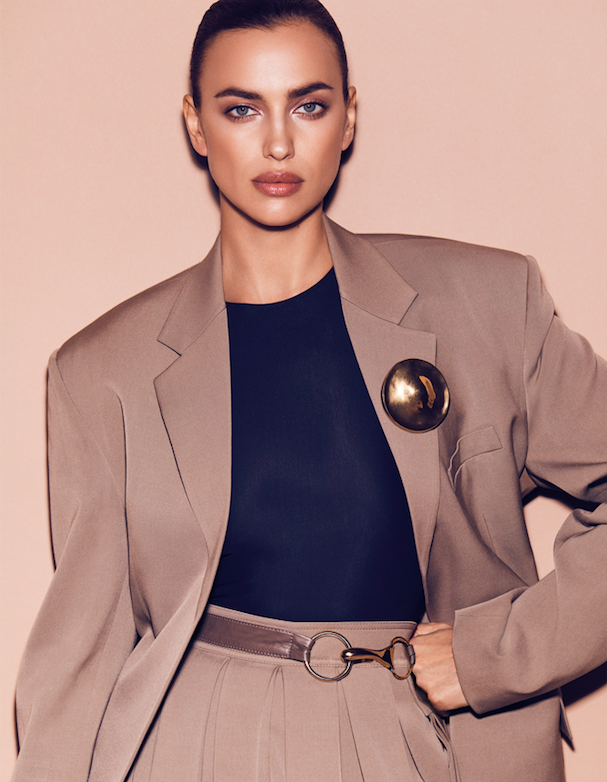 Vogue Arabia February 2018 Irina Shayk by Miguel Reveriego