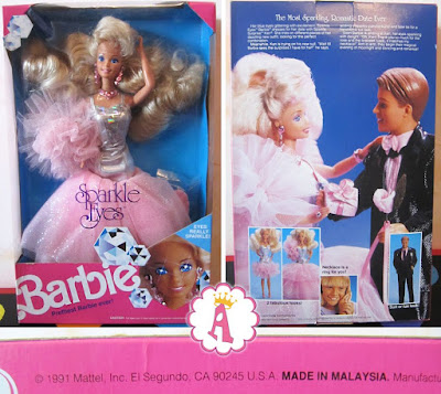 Барби Кристалл 1991 года (глаза кристаллы)