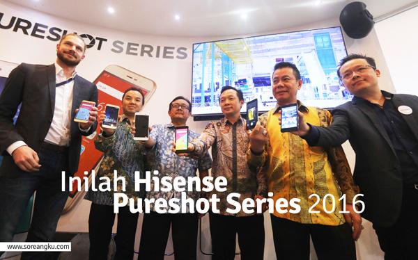 Inilah Hisense Pureshot Series 2016