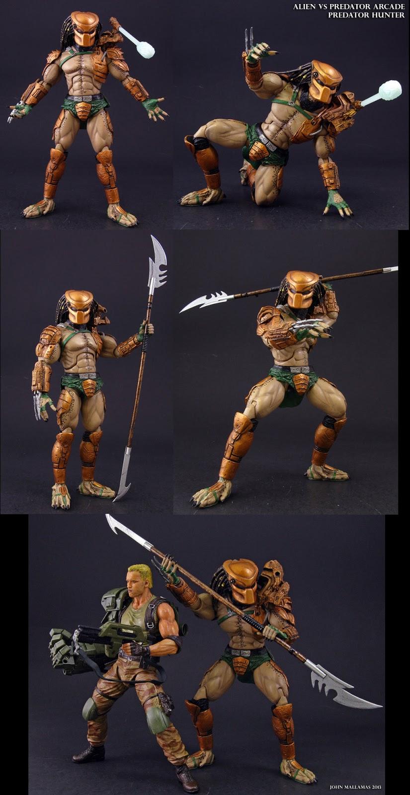 Custom figure Lot of Aliens vs Predators