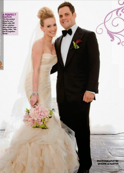 Mike Comrie and Hilary Duff's Wedding
