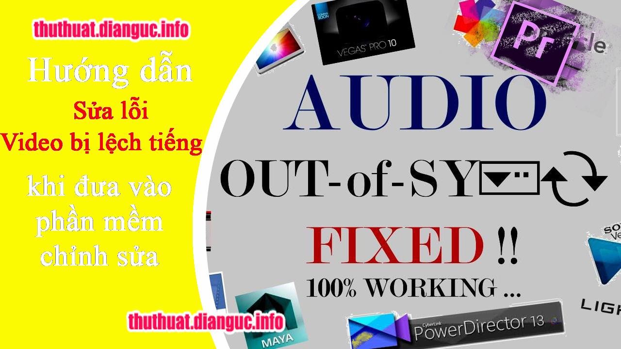 Cách sửa lỗi video bị lệch tiếng khi chỉnh sửa bằng Adobe Premiere