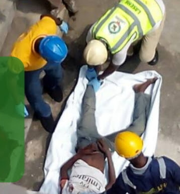 welder jumped to his death ogba lagos