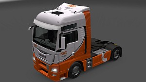 TNT skins for MAN TGX and Euro 6