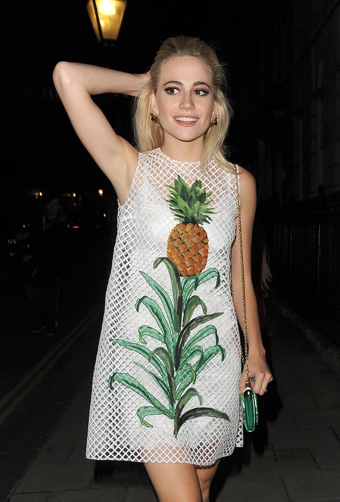 Pixie Lott Leaves Haymarket Theatre in London