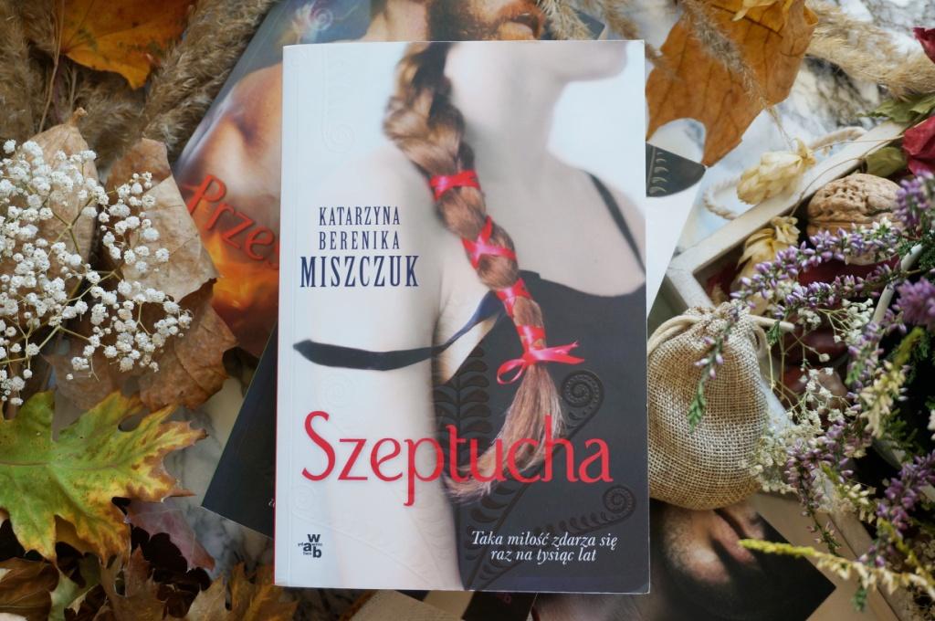 Szeptucha Katarzyna Berenika Miszczuk książka wydawnictwo WAB
