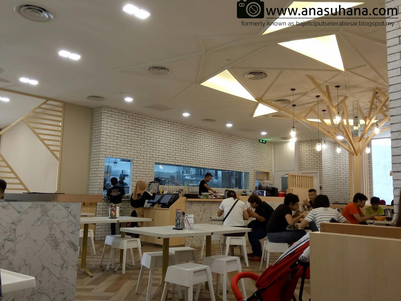 Masakan Thai di Tiger Lily Melawati Mall