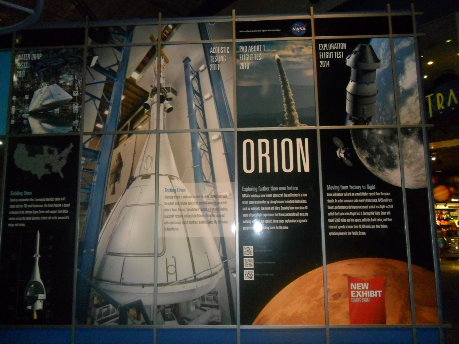 Orion Spacecraft Model Display (page 3) - Pics about space