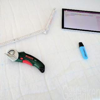 Filterflies mit Werkzeug für den Zuschnitt