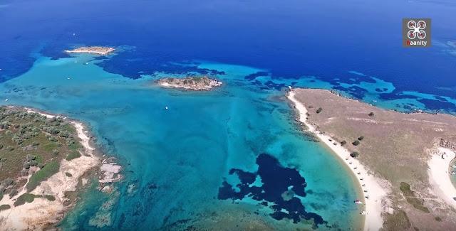 Αμμουλιανή - Δρένια: Ο απόλυτος εξωτικός παράδεισος είναι στη Χαλκιδική (βίντεο drone)