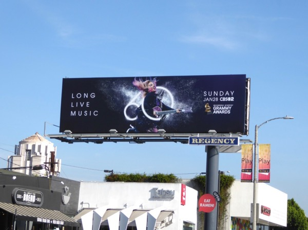 60th Grammy Awards Gaga billboard