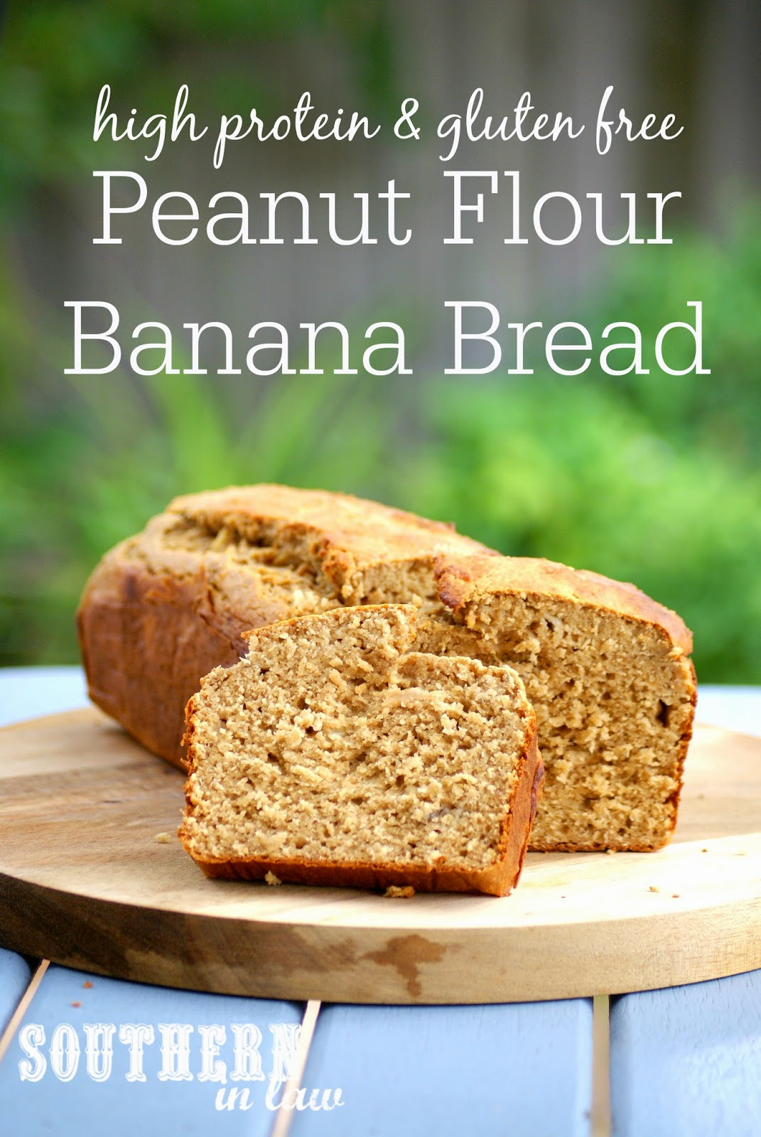 Healthy High Protein Banana Bread Recipe - low fat, gluten free, healthy, high protein, sugar free, freezable recipe, freezer recipe