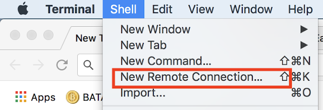 mac remote connection