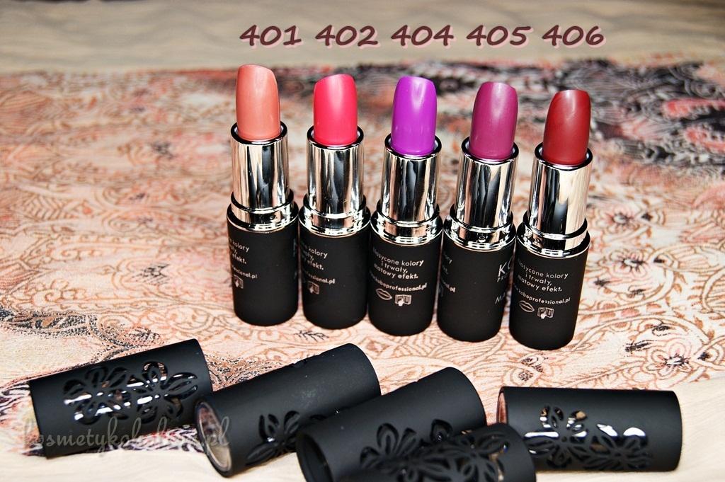 KOBO Professional MATTE LIPS | Piękne i wyrazieste kolory dla Twoich ust