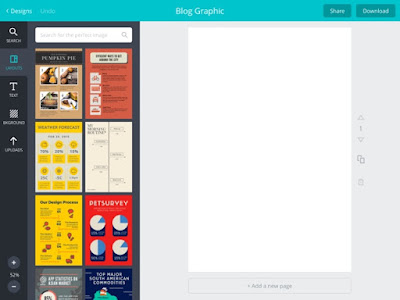 Canva is a robust graphics design app