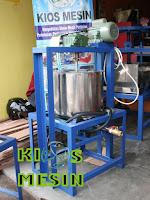 mesin pemasak rumput laut, mesin alkali treatment rumput laut