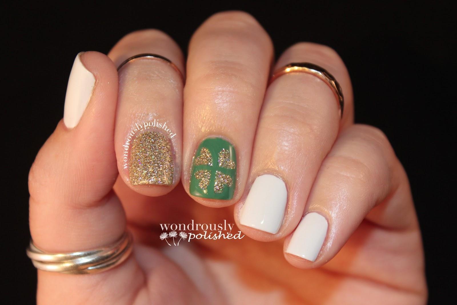 Wondrously Polished: March Nail Art Challenge - Day 6: St ...