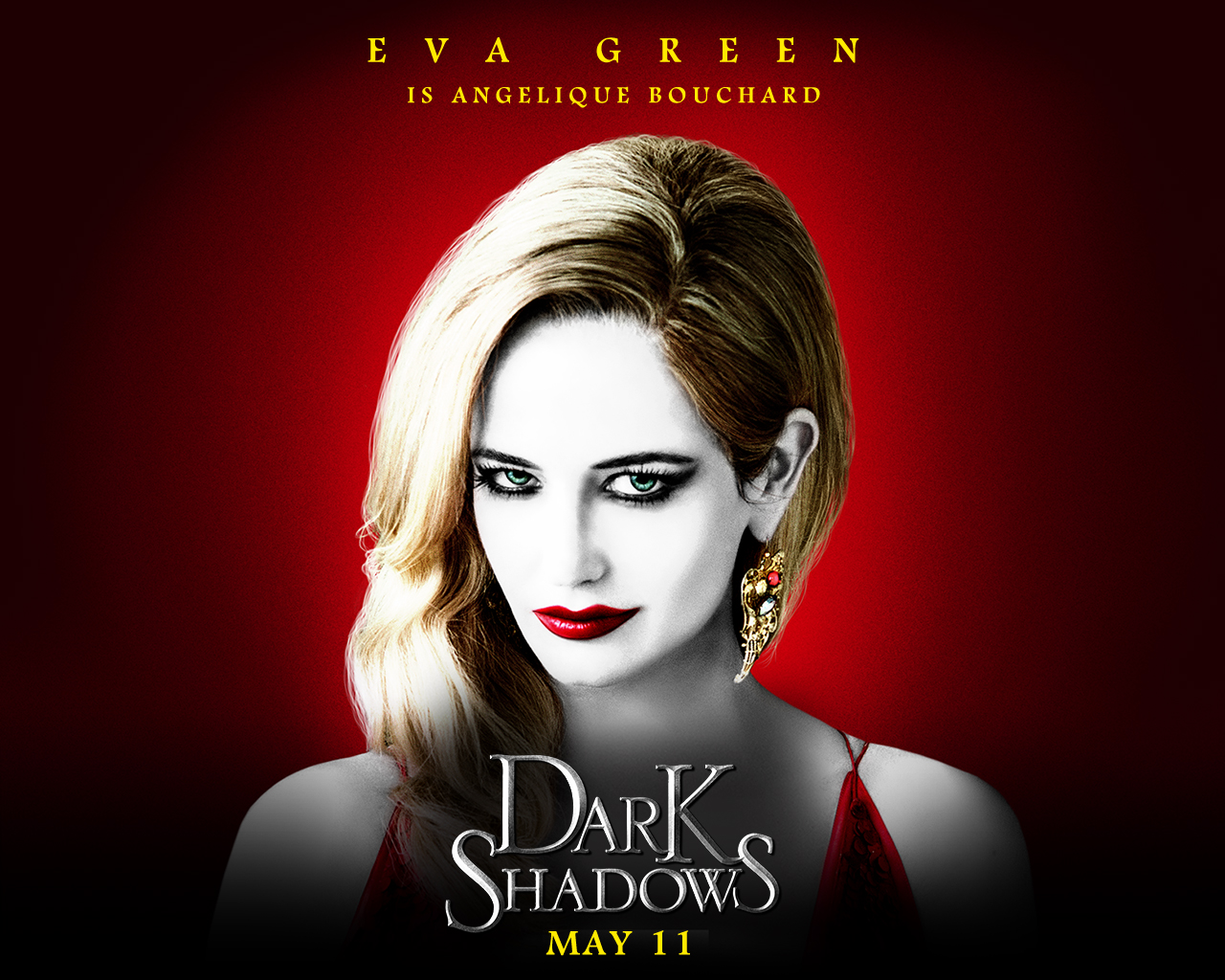 Eva Green Dark Shadows Poster