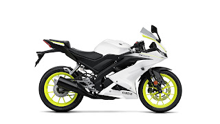 Yamaha-YZF-R125-blanca