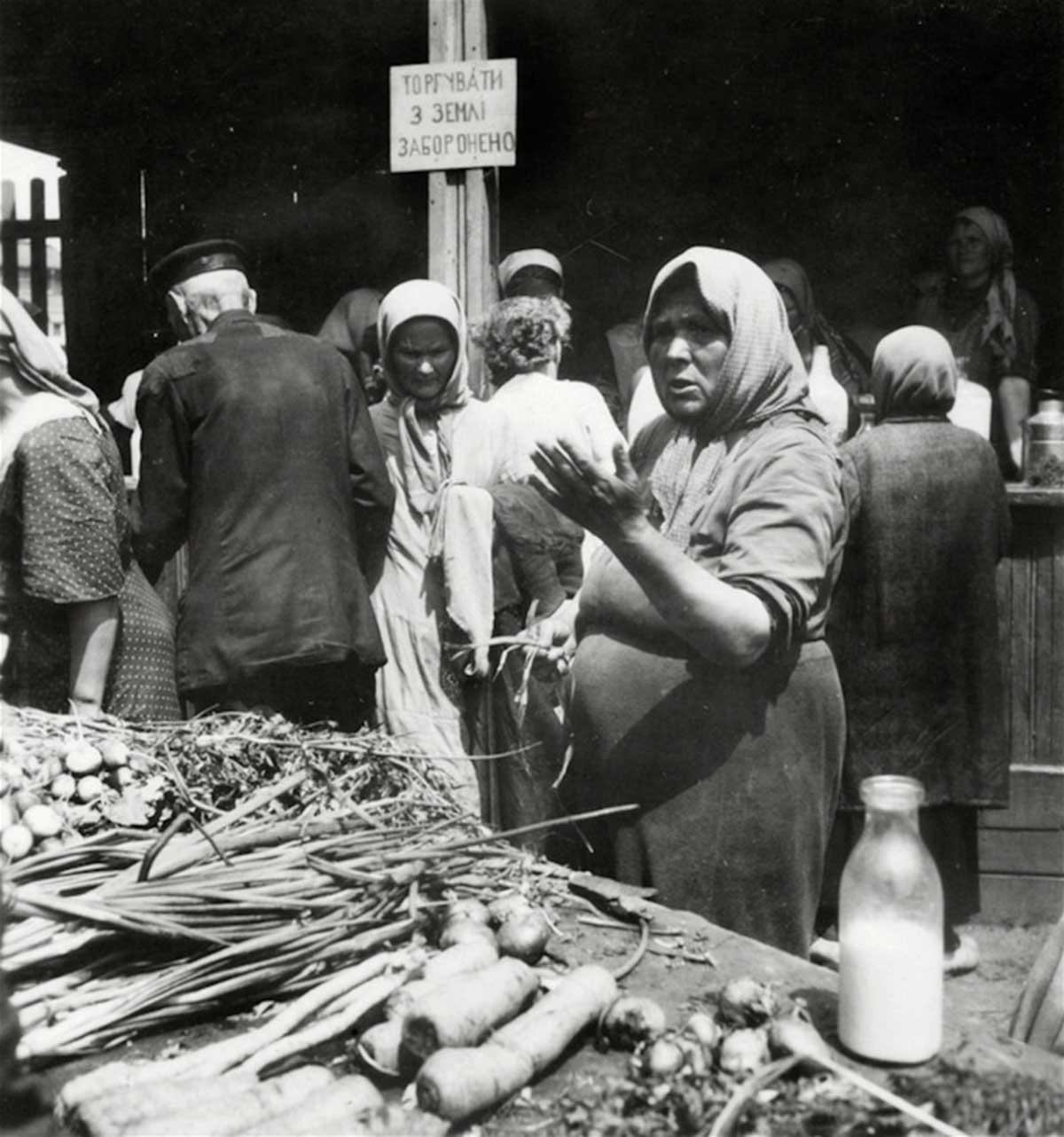 Farmers' market.