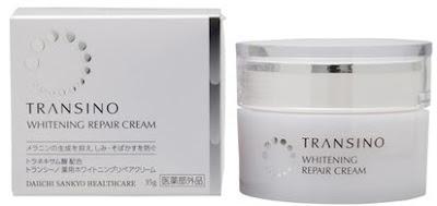 Kem tái tạo da transino whitening repair cream