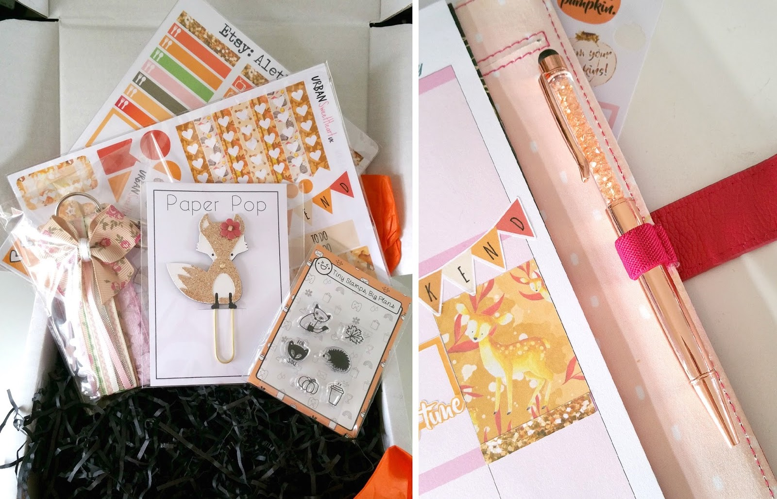 Paperpop UK, stationery box, UK planner box