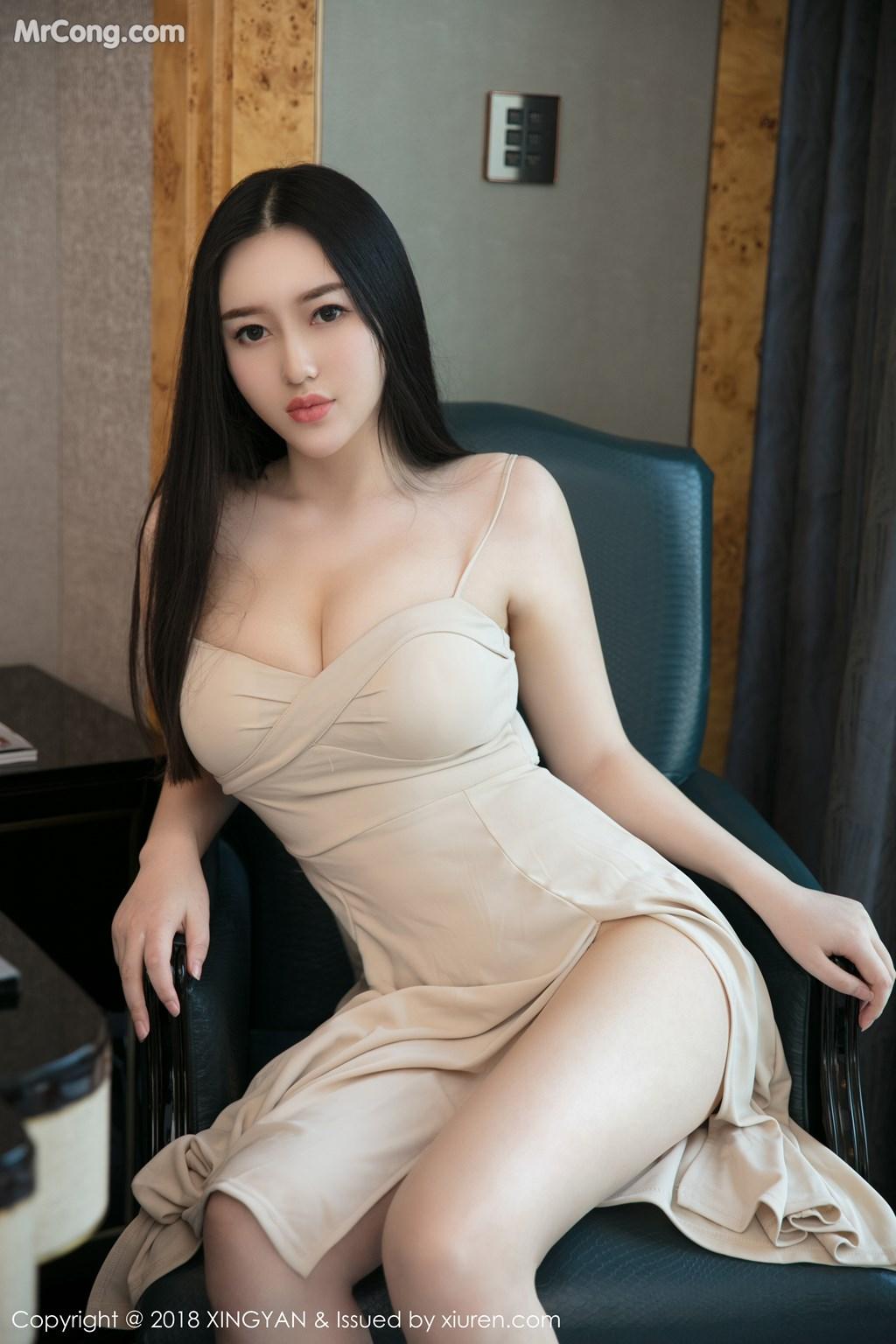 Image XingYan-Vol.031-En-Yi-MrCong.com-009 in post XingYan Vol.031: Người mẫu En Yi (恩一) (43 ảnh)