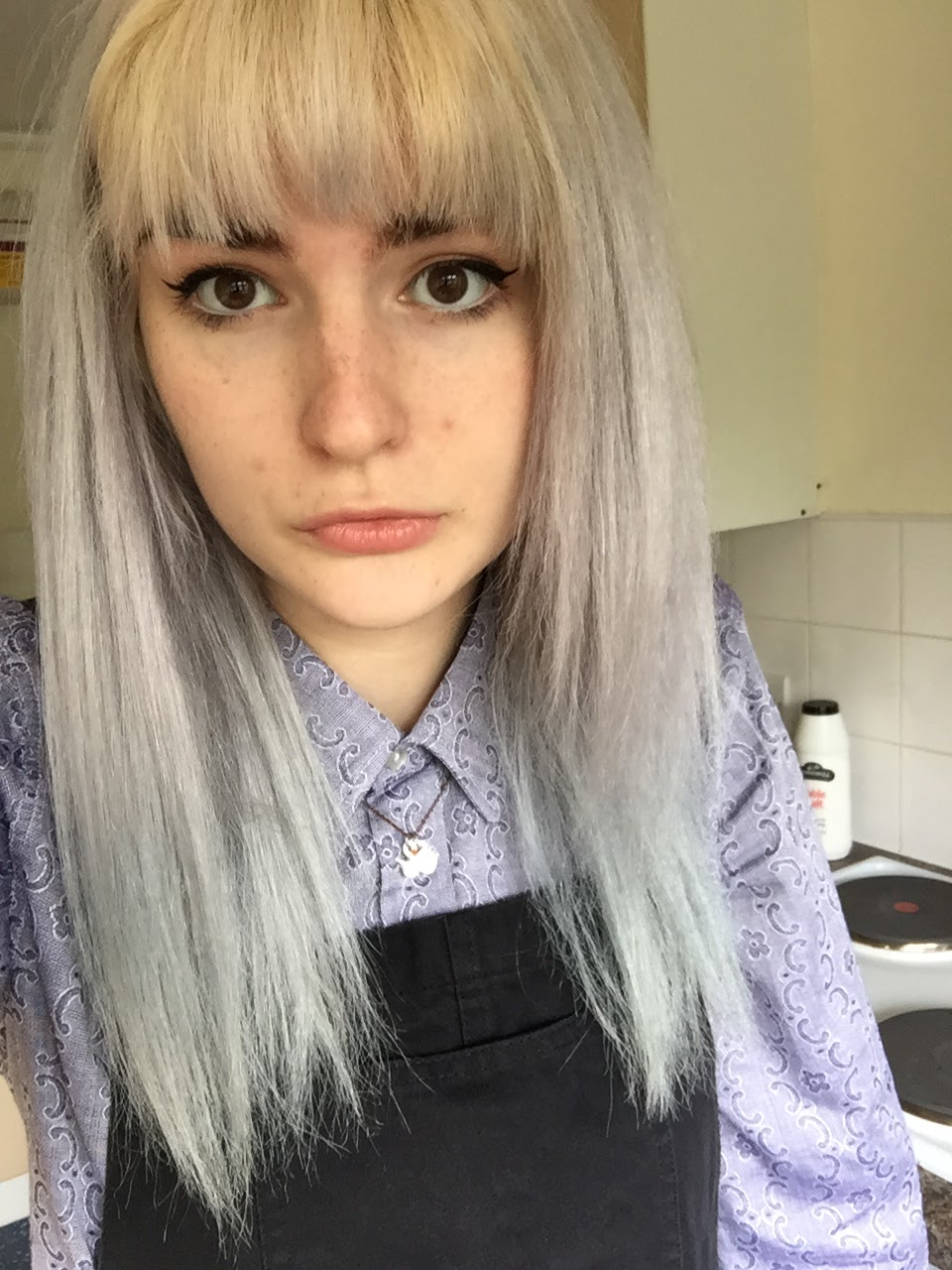 Schwarzkopf Live Steel Silver 098 Review And Before And